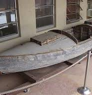 unfinish wooden boat
