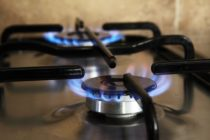 cooking appliance using gas