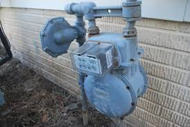 gas meter at home